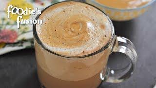 সহজ ক্যাপাচিনো কফি তৈরী - ৩ মিনিটে ২টি স্বাদে | Cappuccino At Home In 3 Minutes - Cappuccino Coffee