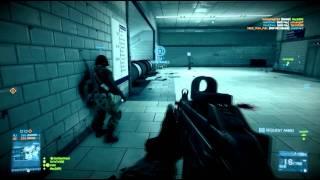 Battlefield 3 Gameplay: 64 Player Metro Conquest [HD]