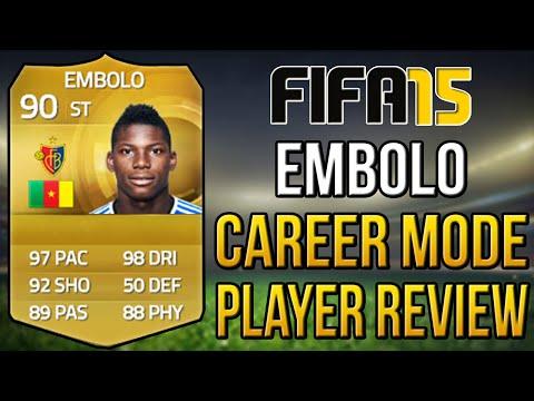 Fifa 15 Career Mode Breel Donald Embolo Player Review 90 Ovr