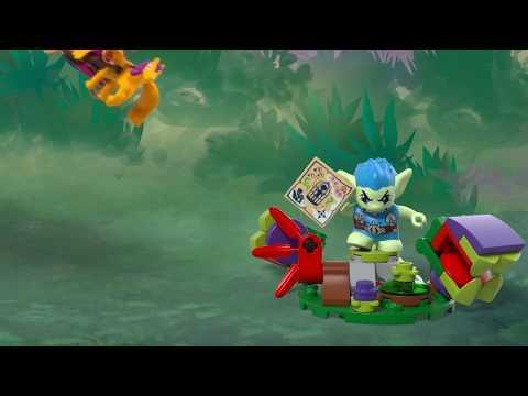 Vidéo LEGO Elves 41186 : L'évasion d'Azari de la forêt des gobelins