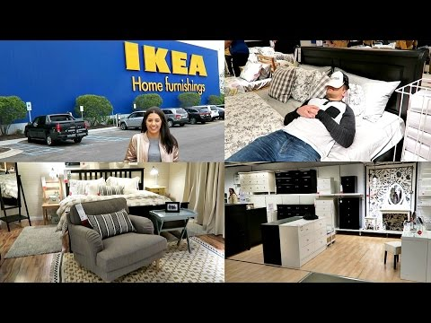 IKEA! SHOP WITH ME 2017! EPISODE 4! BEDROOM FURNITURE