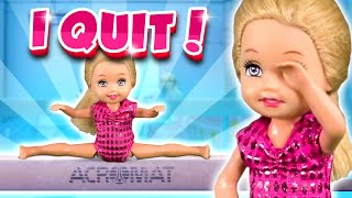 Barbie - I Quit Gymnastics! | Ep.219