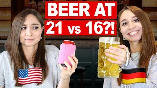Alcohol Culture GERMANY vs. USA | German Girl in America