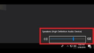 How to Fix Speaker Volume Icon Not Opening in Windows 10