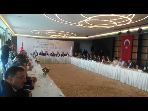 Turizm Bakanı Antalya'da