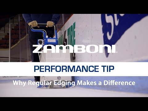 Zamboni Why Regular Edging Makes A Difference