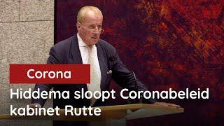 Kijken! Theo Hiddema maakt gehakt van het Corona-kabinetsbeleid!