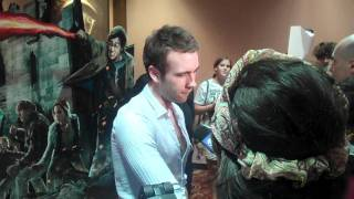 Мэттью Льюис, Matthew Lewis in Chicago at Deathly Hallows Midnight Premiere