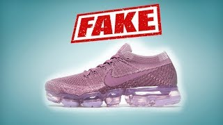 Sneakers NIKE AIR VAPORMAX: how to spot FAKE. Iriska Fashion Lab