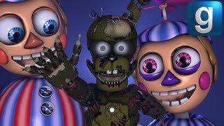 Gmod FNAF | If The Toy Animatronics Were In FNAF 3 - Xman 723