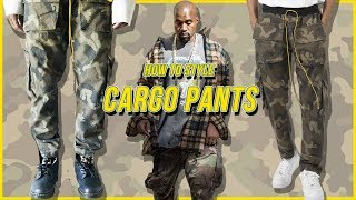 HOW TO STYLE CAMO CARGO PANTS | Fall Fashion Favorites Haul (MNML REVIEW)