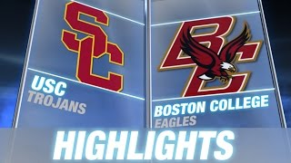 USC vs BC   2014 ACC Football Highlights