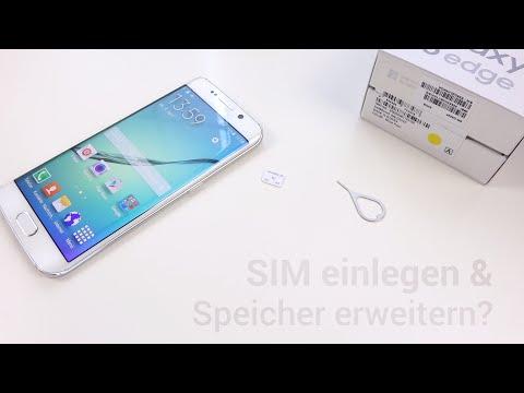 Galaxy S6 edge: nanoSIM einlegen & Speicher erweitern? (Cloud)