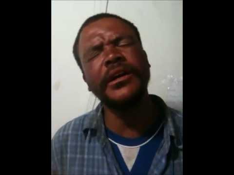 Homeless guy  sings