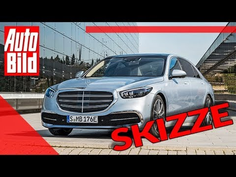 Mercedes S-Klasse (2020): Neuvorstellung - Skizze - Luxuslimousine