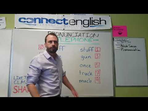 Connect English Pronunciation Telephone, Volume 18 - Mission Valley Campus