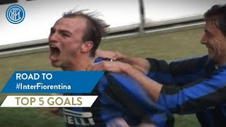 INTER-FIORENTINA | TOP 5 GOALS | Road To with Ibrahimovic, Cambiasso and more