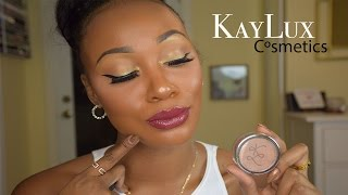 Kaylux Cosmetics brand review