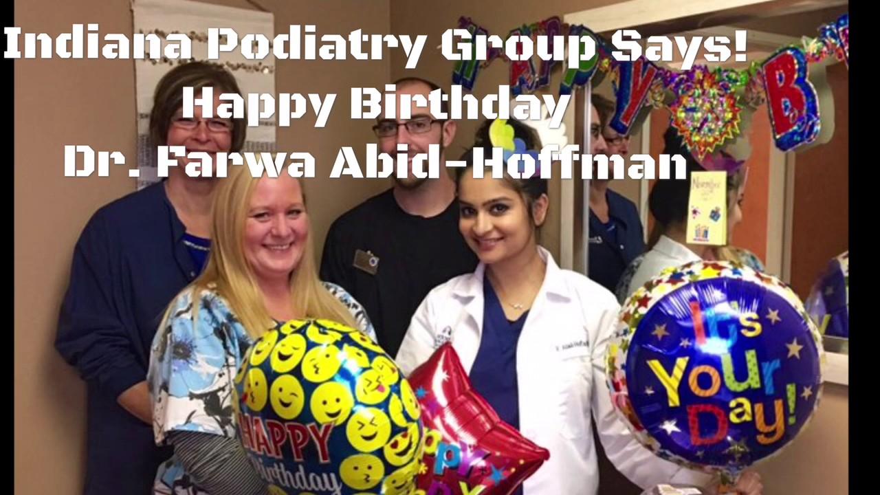 Happy Birthday Dr. Farwa Abid-Hoffman
