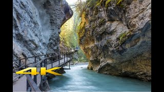 Johnston Canyon @ Banff National Park  4K