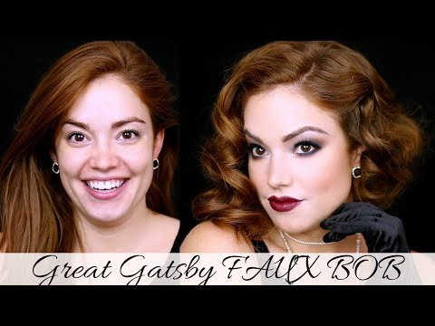 Great Gatsby FAUX BOB  ||  1920's Inspired Hair! Mp3