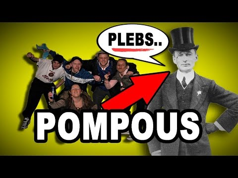💲😏😞 Learn English Words: POMPOUS - Meaning, Vocabulary with Pictures and Examples