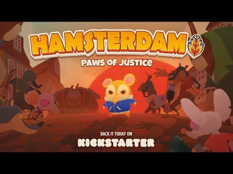 Hamsterdam - Game Reveal Trailer | Kickstarter | Muse Games thumbnail