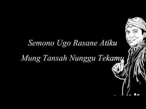 Didi Kempot -Tanjung Mas Tinggal Janji Lyric