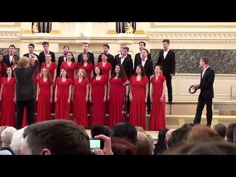 Академический хор вокального отдела Музыкального училища имени Гнесиных - финал V ДЮХЧМ видео