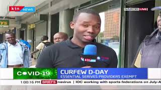 Curfew D-Day: Kenyans travelling upcountry as Countrywide curfew begins today