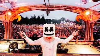 Marshmello at Tomorrowland Music Festival in Boom, Belgium Recap