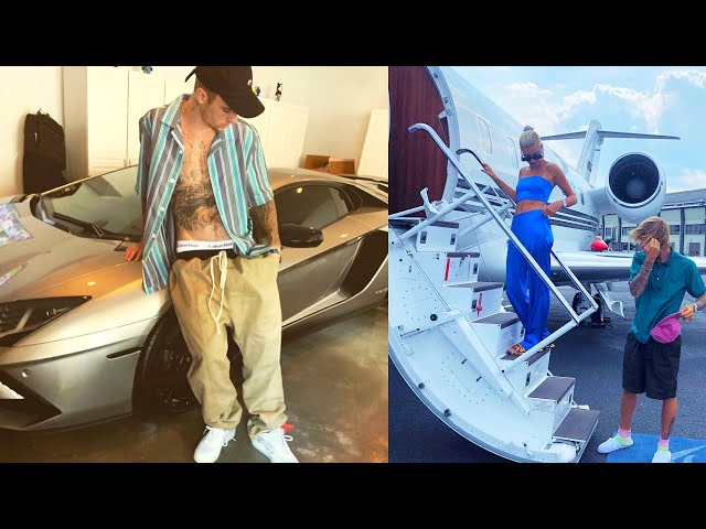 Justin Bieber Car Collection & Private Jet 2020