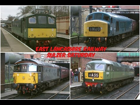 Sulzer Saturday on the East Lancashire Railway with Classes …
