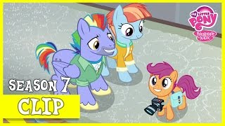 MLP: FiM – Scootaloo Meets Rainbow Dash