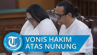 Hakim Bacakan Vonis Komedian Nunung atas Kasus Narkotika Sabu yang Ia konsumsi