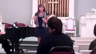 Eliza Albritton sings  The Simple Joys of Maidenhood  by Alan Lerner and Frederick Loewe
