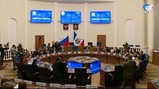 Губернатор Сергей Митин провел заседание Правительства Новгородской области