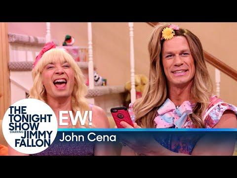 """""""Ew!"""" with John Cena (видео)"""