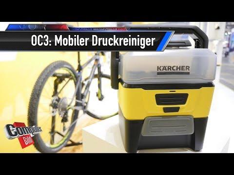 Kärcher OC 3: Mobiler Niederdruck-Reiniger
