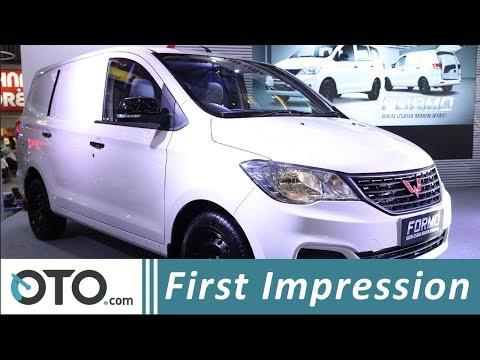 Wuling Formo Minibus Blind Van | First Impression | Mobil Niaga Bertabur Fitur | OTO com