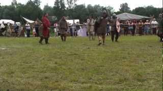 preview picture of video 'Drohiczyn 2012-06-10 finał walk wojów'