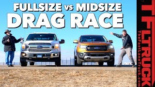 At Last! Is a 2019 Ford Ranger Quicker than a Ford F-150?