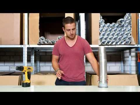 Montageanleitung Aluflexrohr Flexibler Lüftungsschlauch