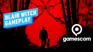 22 Minutes of Blair Witch Demo Gameplay - Gamescom 2019