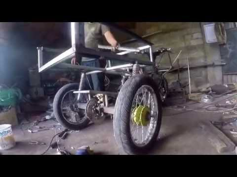 Video Coet Garage | make a motor roda 3