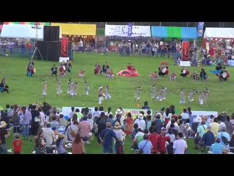 野の花保育園 うるま市エイサーまつり 2017.9.23?