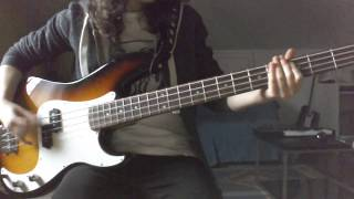 Foals - Olympic Airways (bass cover)