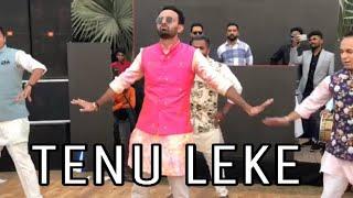 Tenu Leke| Groom And Friends| Salaam E Ishq | Wedding Dance| Bollywood| Bolly Garage