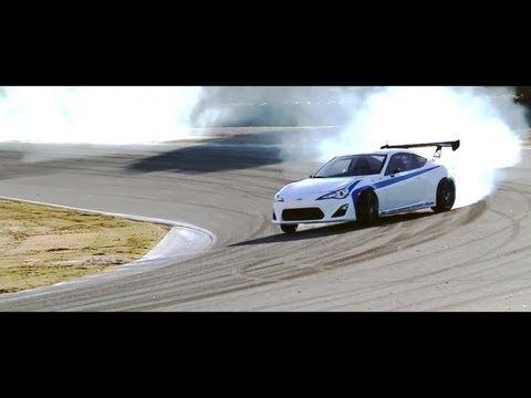 Scion FR-S Testing at Laguna Seca