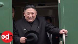 Kim Jong-un arrives in Russia ahead of Putin summit